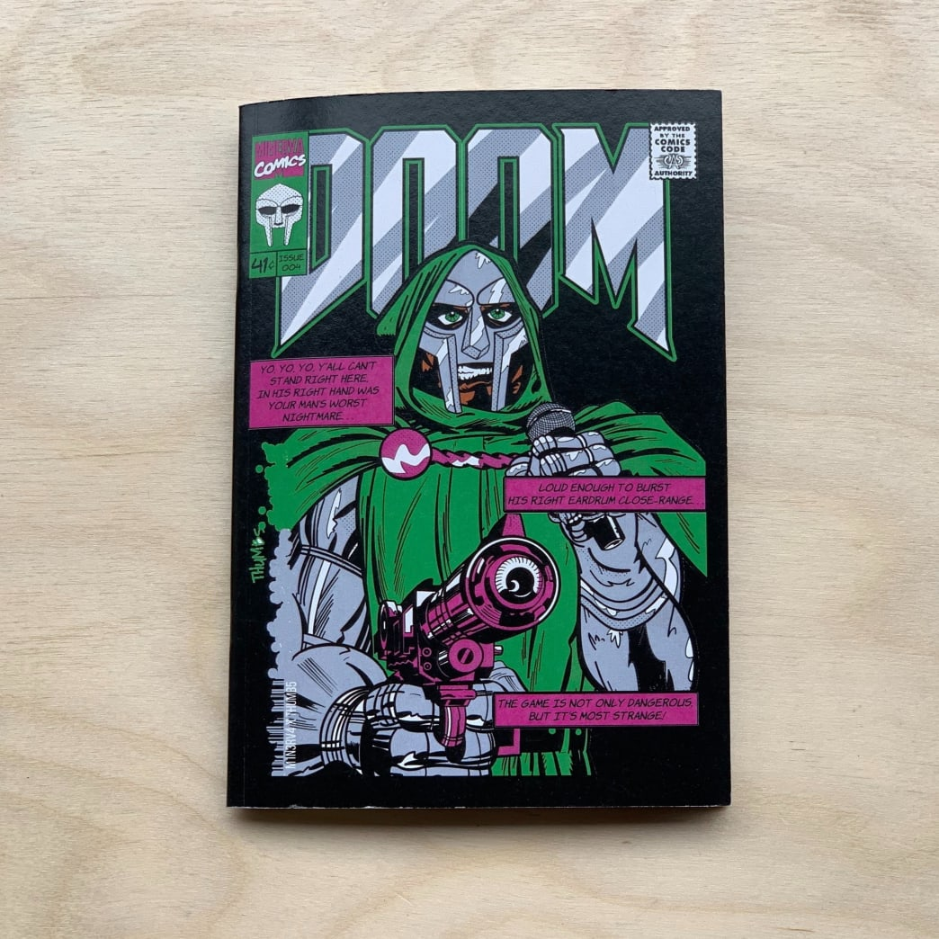 Minerva - DR DOOM A6 Notebook | Book by Minerva 1