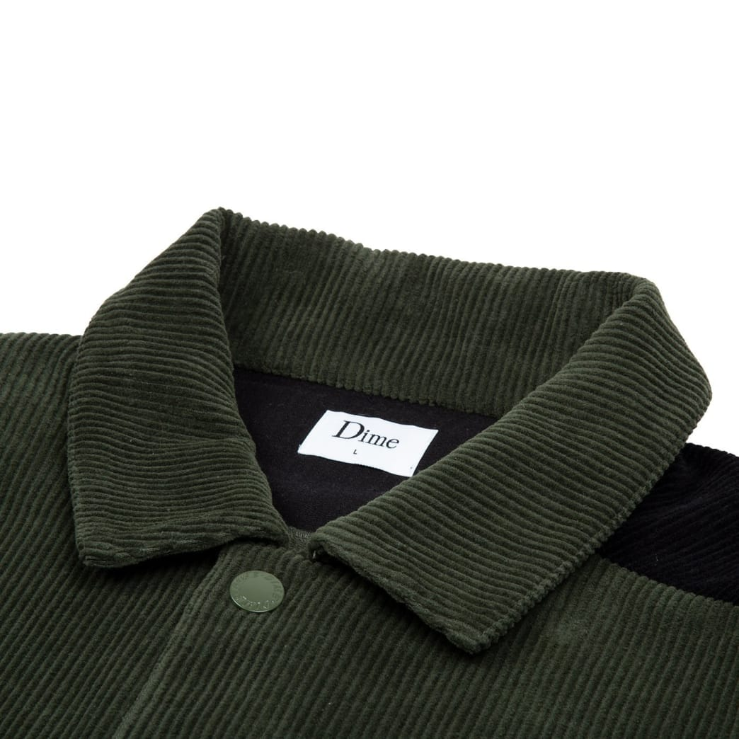 Dime Corduroy Jacket Green | Jacket by Dime MTL 2