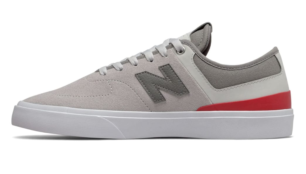 New Balance Numeric 379 Skate Shoe - Grey / Red / White | Shoes by New Balance 2