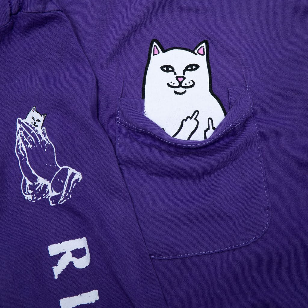 RipnDip Lord Nermal Pocket Tee Long Sleeve | Longsleeve by Ripndip 3