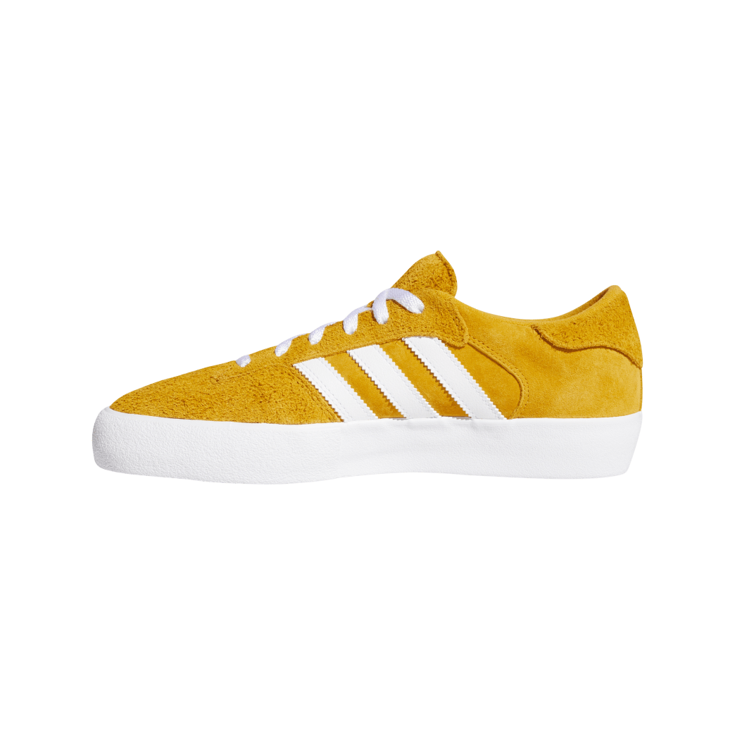 adidas Matchbreak Super Skate Shoes - Tactile Yellow / FTWR White / Gold Met | Shoes by adidas Skateboarding 4