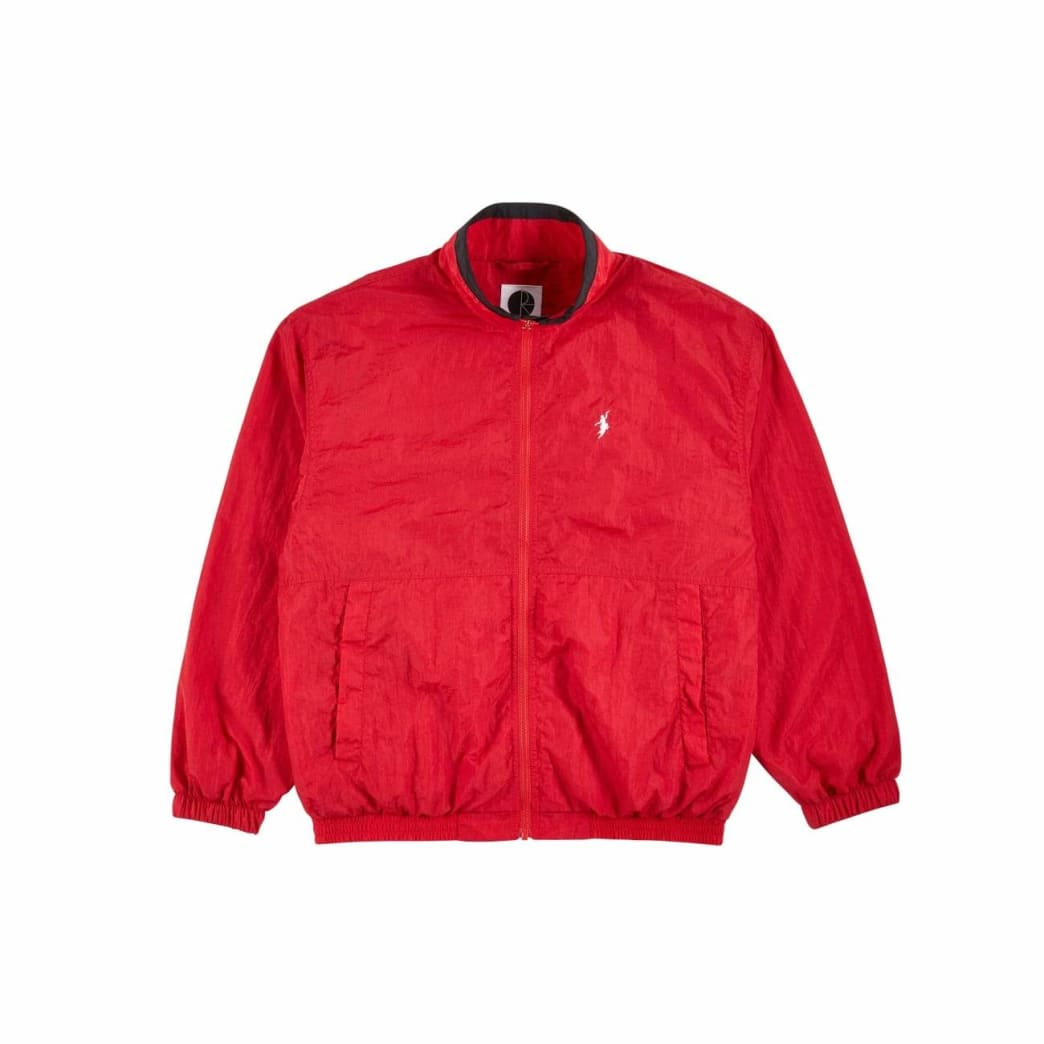 Polar Skate Co Track Jacket - Red / Black | Track Jacket by Polar Skate Co 2