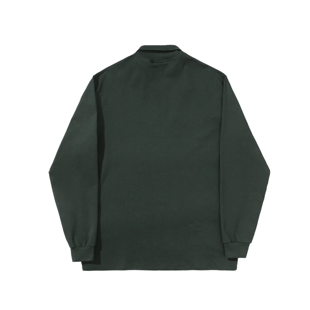 Helas - Turtleneck Longsleeve T-Shirt - Green | Longsleeve by Helas 3