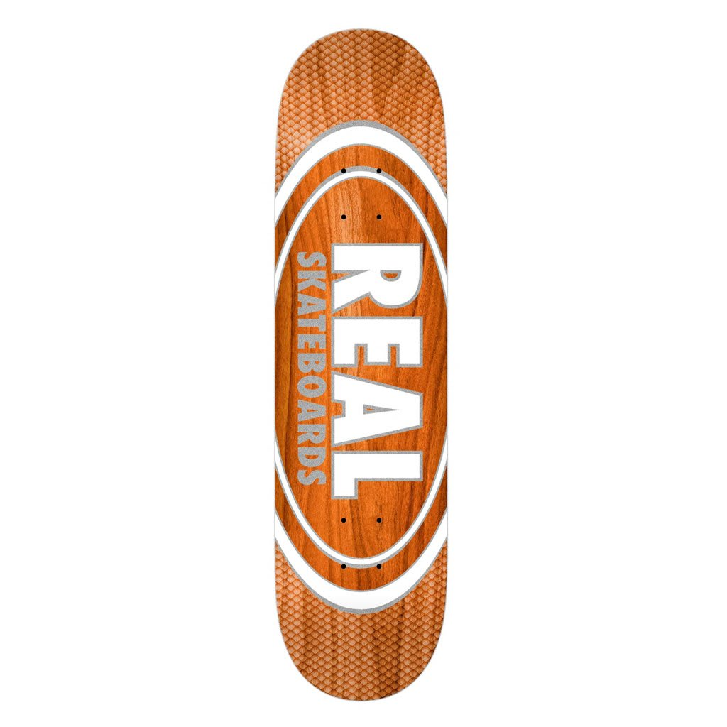 Oval Pearl Patterns Team Series - 8.75 | Deck by Real Skateboards 1