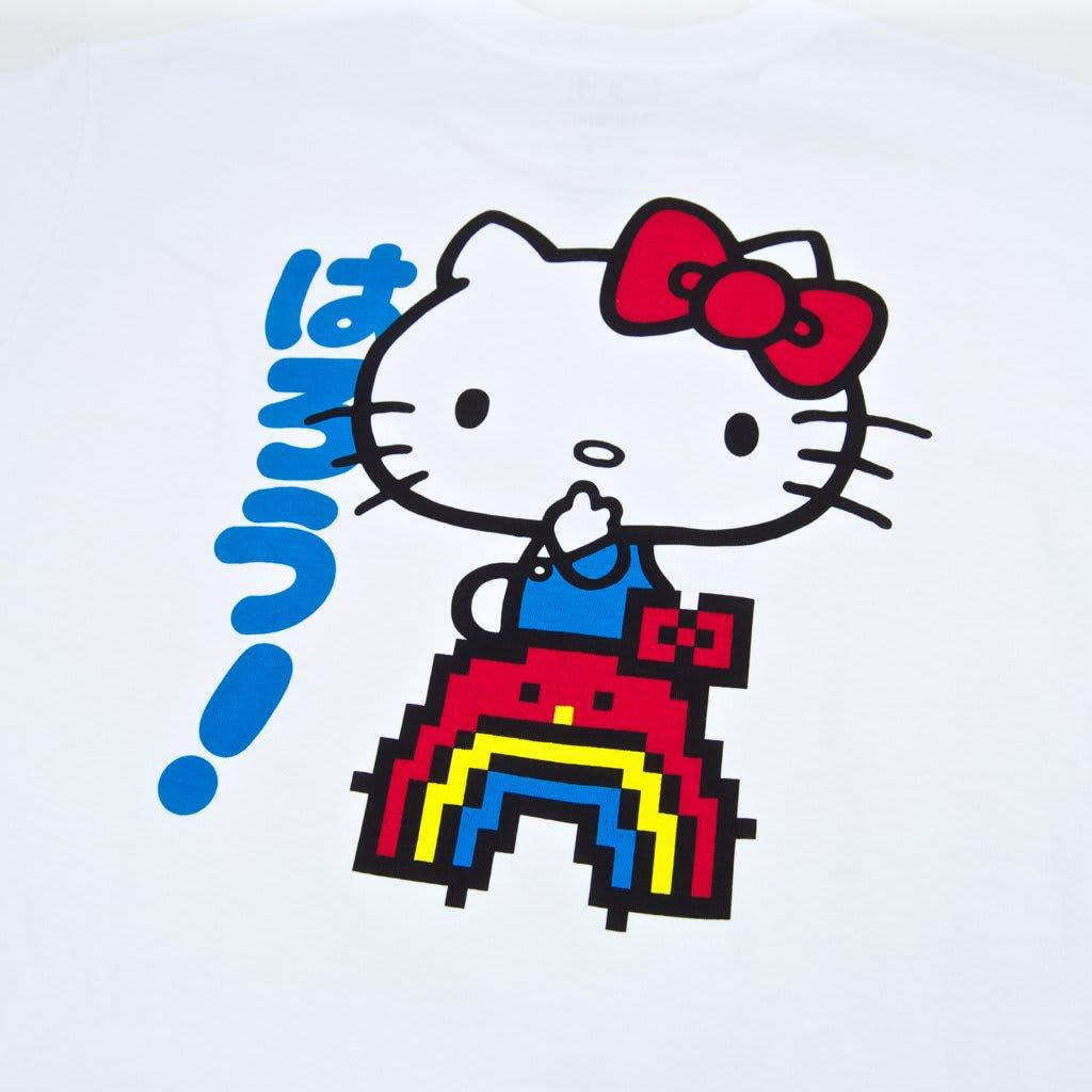 Girl Skateboards - Rainbow Hello Kitty T-Shirt - White | T-Shirt by Girl Skateboards 4