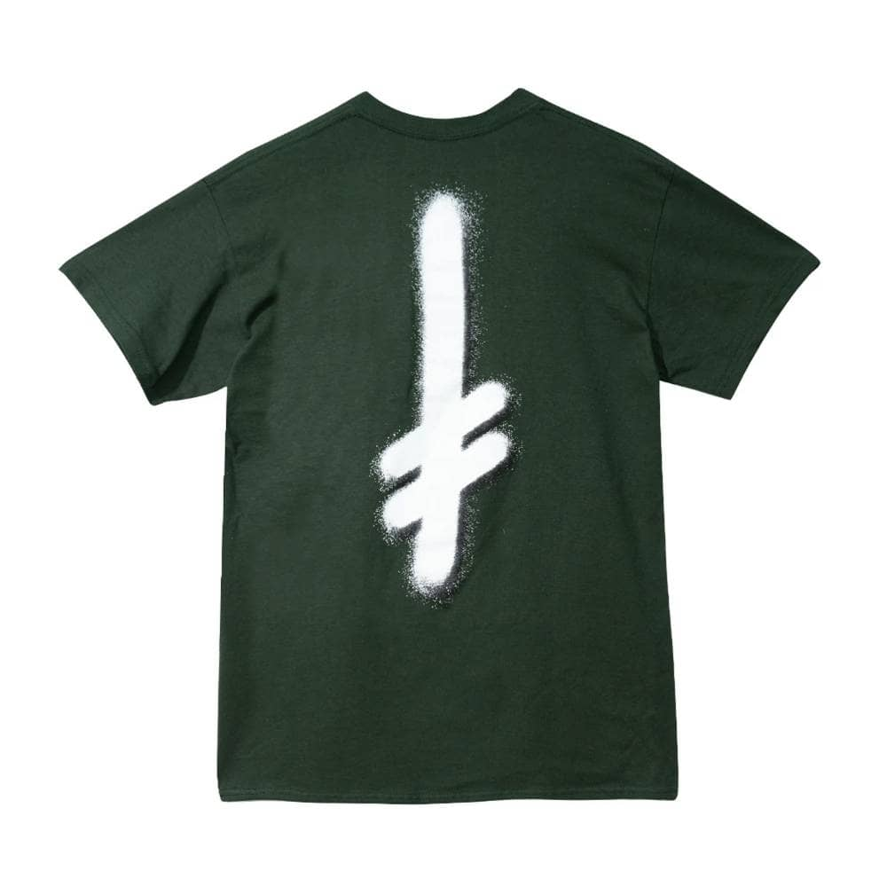 Deathwish Skateboards The Truth T-Shirt - Forest Green/White | T-Shirt by Deathwish 2