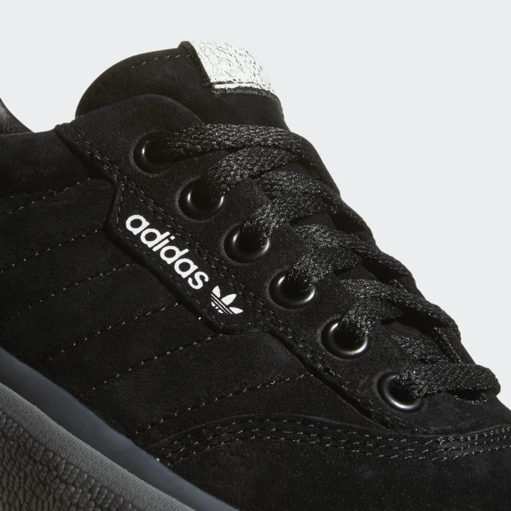 Adidas 3MC Vulc Shoes - Core Black/FTWR White/Solid Grey | Shoes by adidas Skateboarding 7