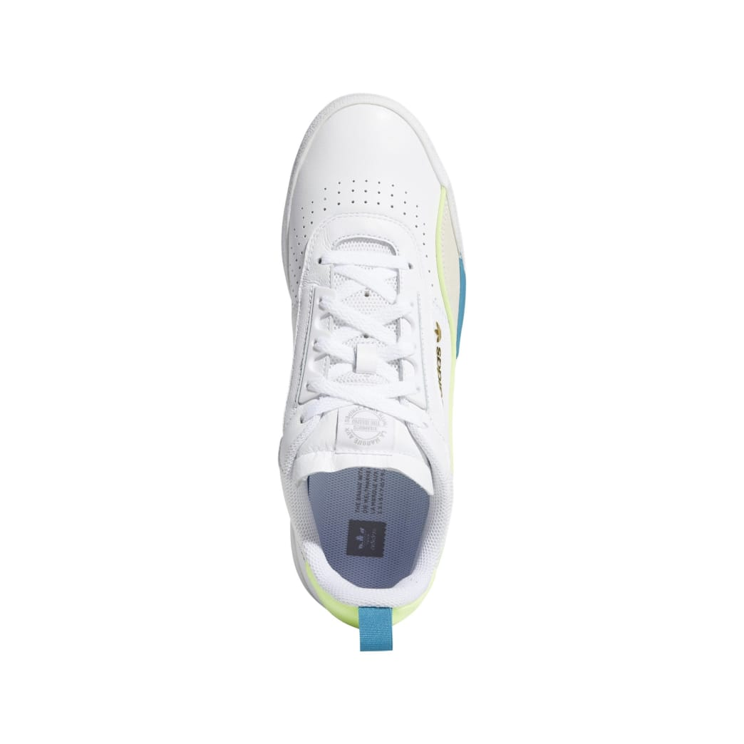 adidas Liberty Cup Skateboarding Shoe - Cloud White/Chalk White/Hi-Res Yellow | Shoes by adidas Skateboarding 2