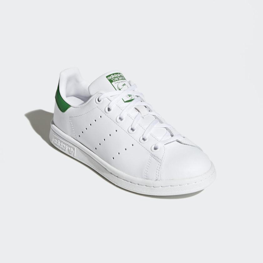 Adidas - STAN SMITH - White / Green / Green   Shoes by adidas Skateboarding 2