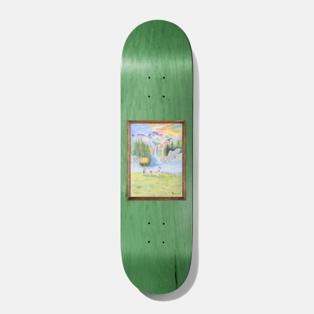 Baker Skateboards Tyson Woodland Escape Skateboard Deck - 8.125"