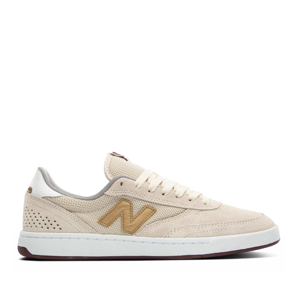 New Balance Numeric 440 Shoes - Turtle Dove / Gold Metallic | Shoes by New Balance 1