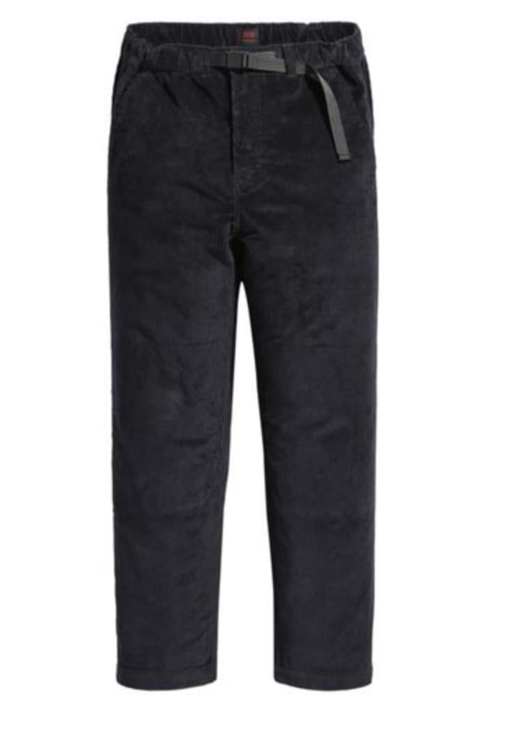Levi's Skateboarding Collection Skate Highland Corduroy Pant Jet Black | Trousers by Levi's Skateboarding 1