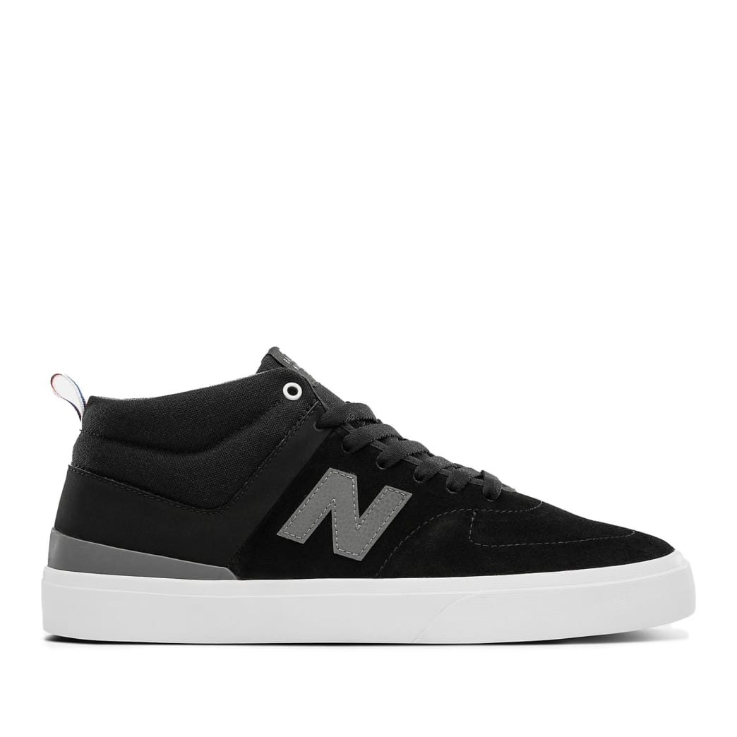 New Balance Numeric 379 Mid Skate Shoes - Black / Grey   Shoes by New Balance 1