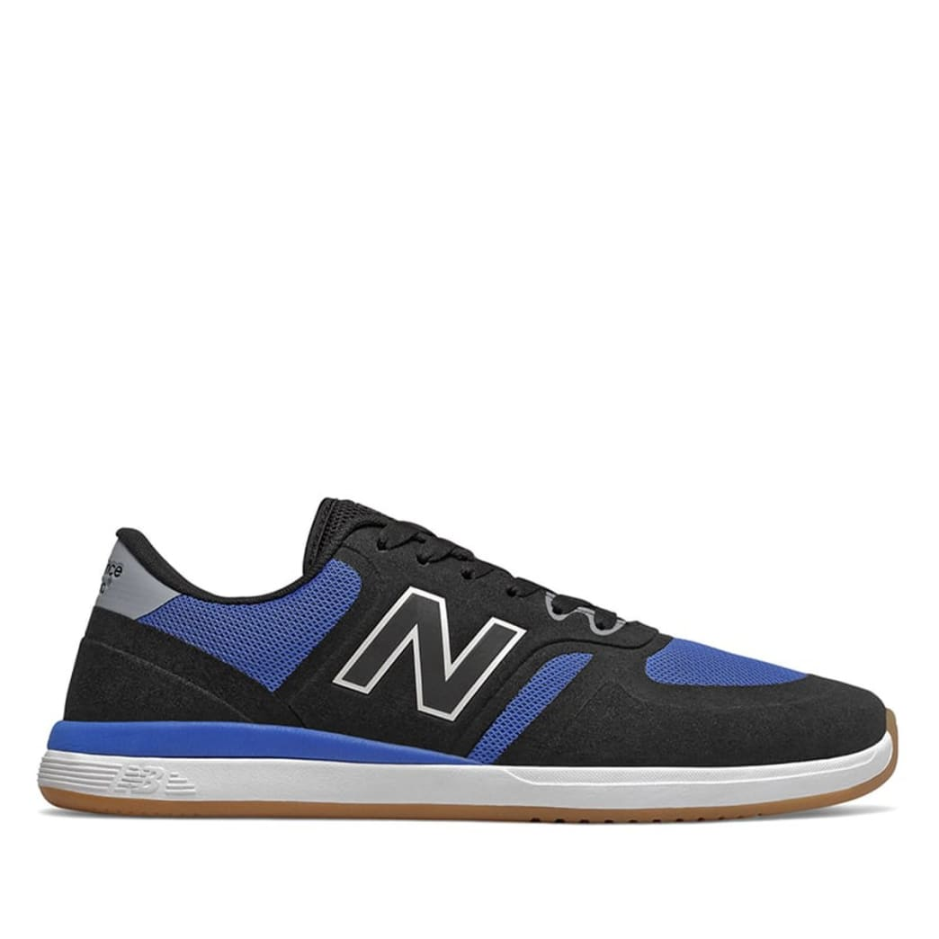 New Balance Numeric 420 Skate Shoe - Black / Blue | Shoes by New Balance 1
