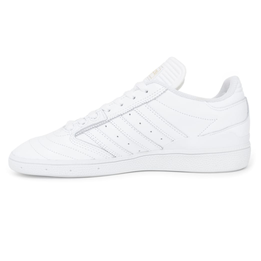 Adidas Busenitz Shoes - FTW White/Gold/FTW White | Shoes by adidas Skateboarding 3