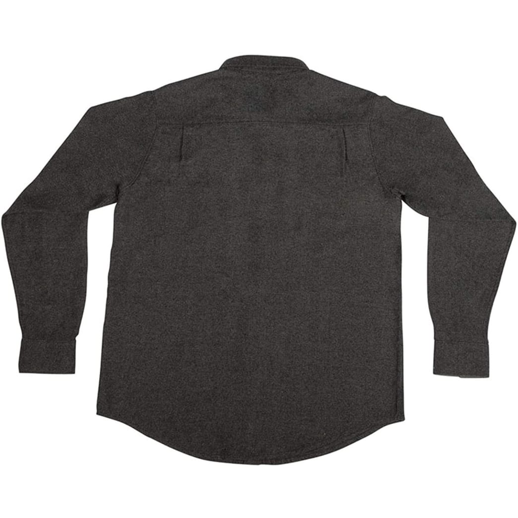 Independent Mill Long Sleeve Button Up Charcoal Heather | Shirt by Independent Trucks 2