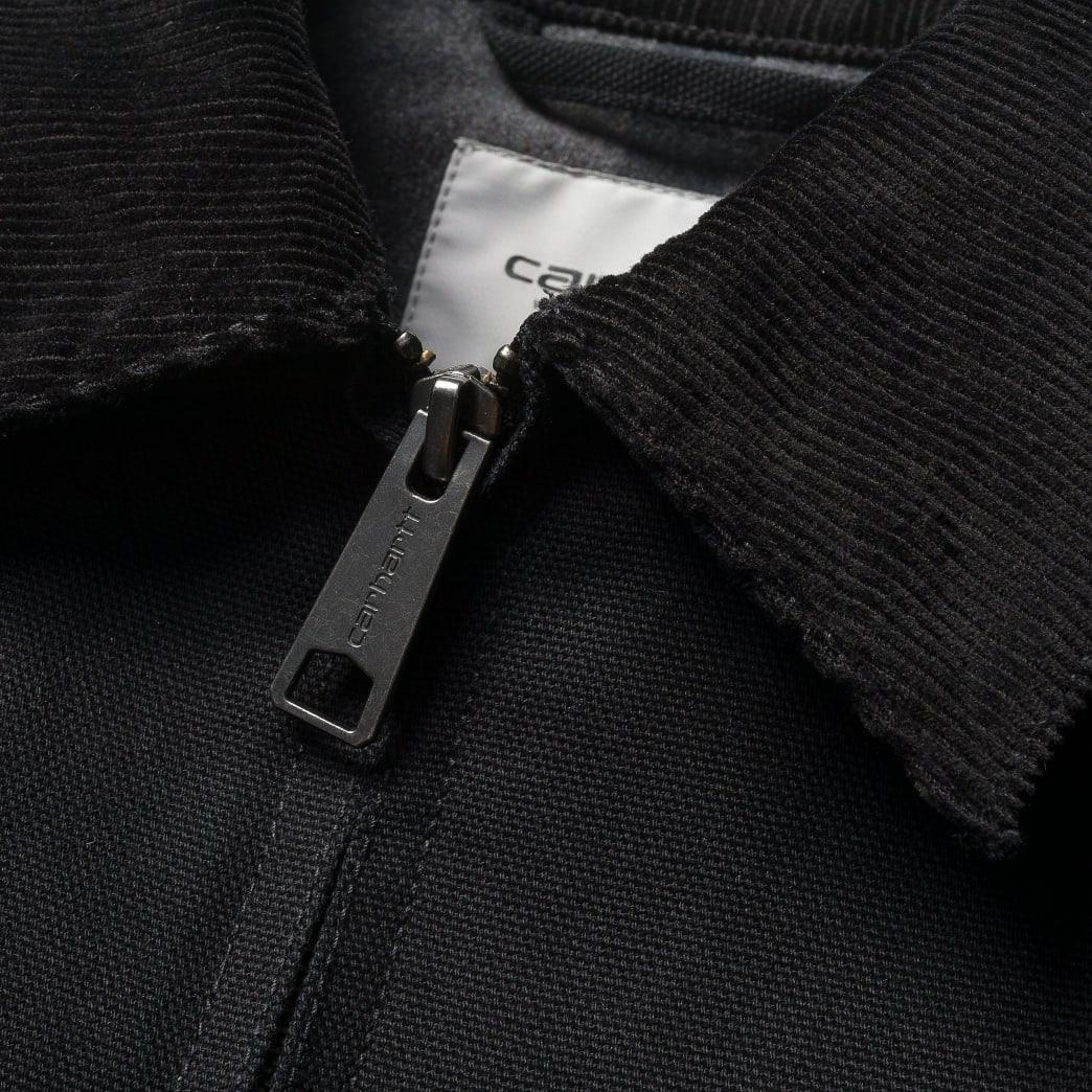 Carhartt WIP - Detroit jacket black rigid | Jacket by Carhartt WIP 3