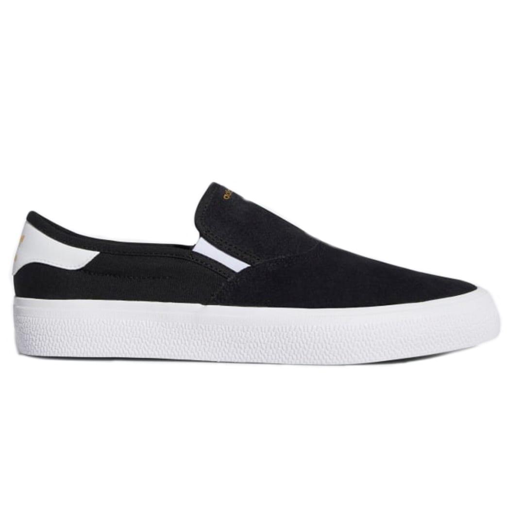 Adidas 3MC Slip On - Black/White   Shoes by adidas Skateboarding 1