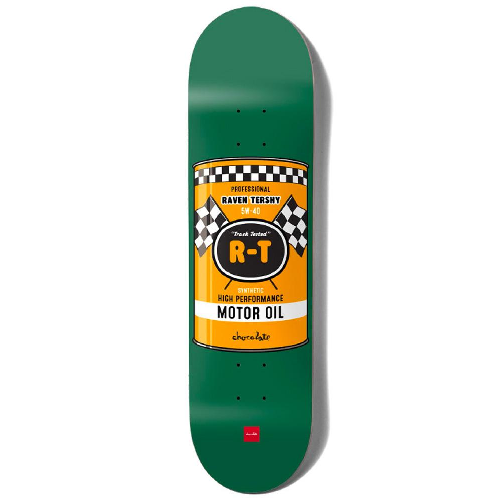 "Chocolate Skateboards - Hecox Essentials Raven Tershy Deck 8.5"" Wide | Deck by Chocolate Skateboards 1"