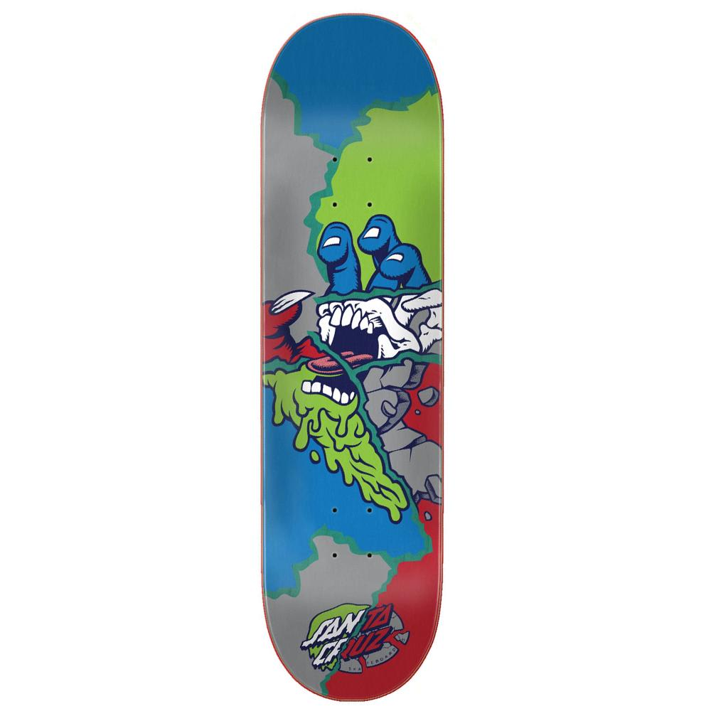 Santa Cruz Skateboards Universal Hand Skateboard Deck - 8.00 | Deck by Santa Cruz Skateboards 1