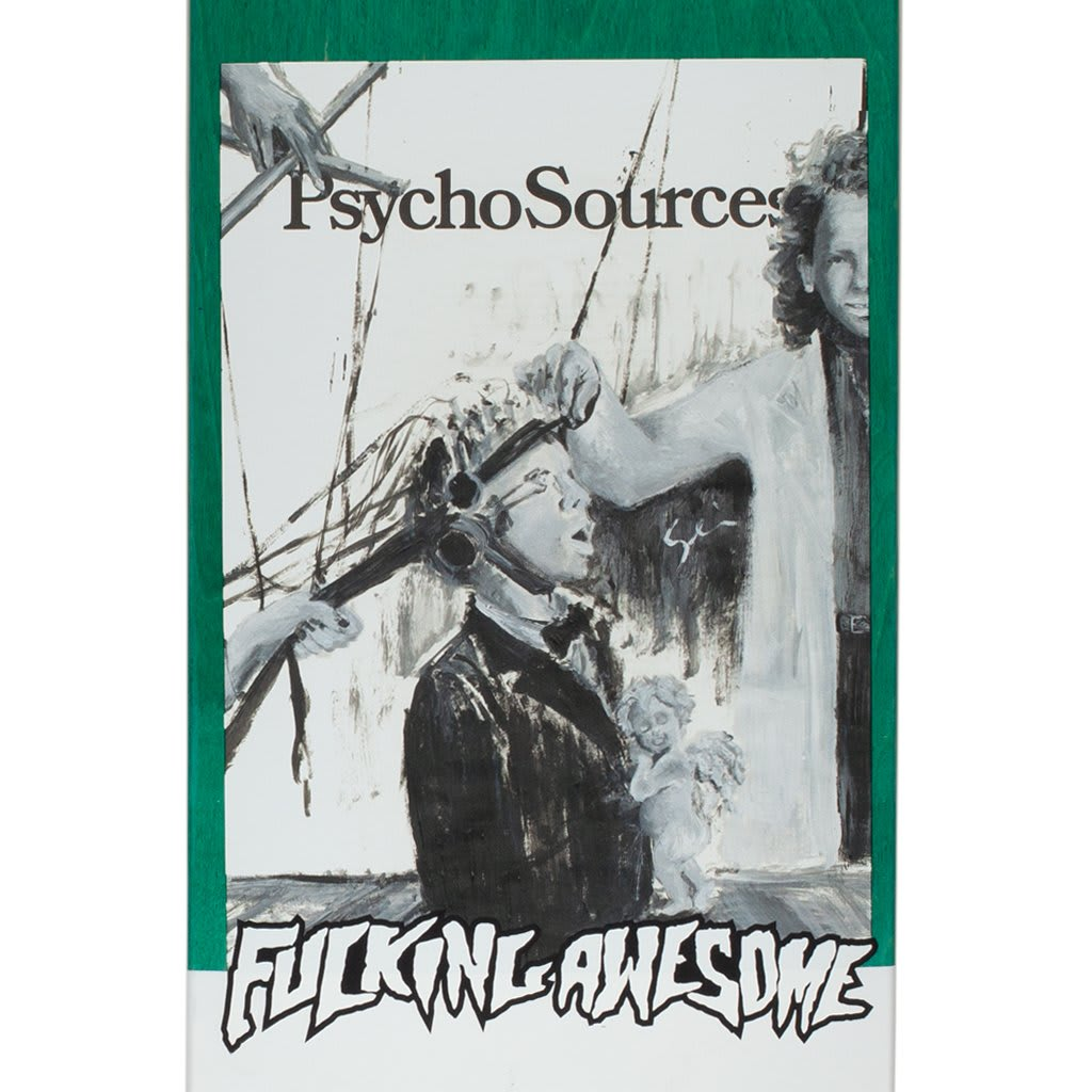 Fucking Awesome Dill Psycho Sources Deck - 8.25"