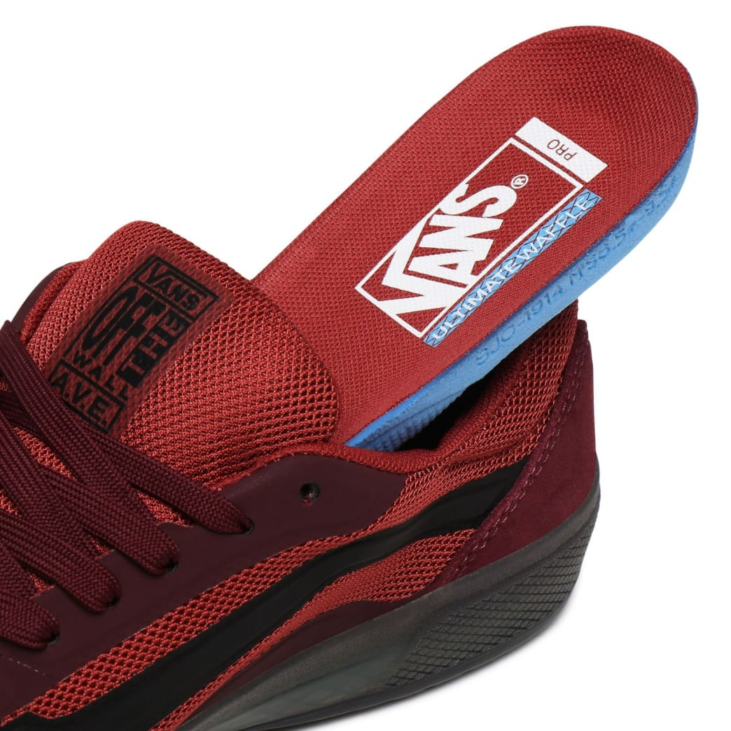 Vans AVE Pro Skate Shoes - Port Royale / Rosewood | Shoes by Vans 8