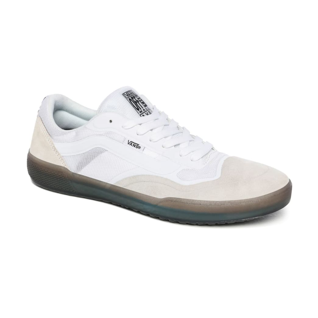 Vans AVE Pro Skate Shoes - White / Smoke | Shoes by Vans 4