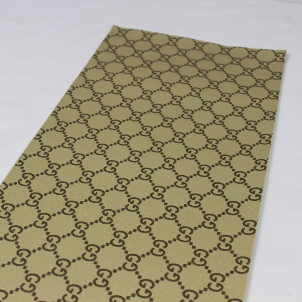 Gucci Grip Tape Black/Gold   Griptape by MOB 2