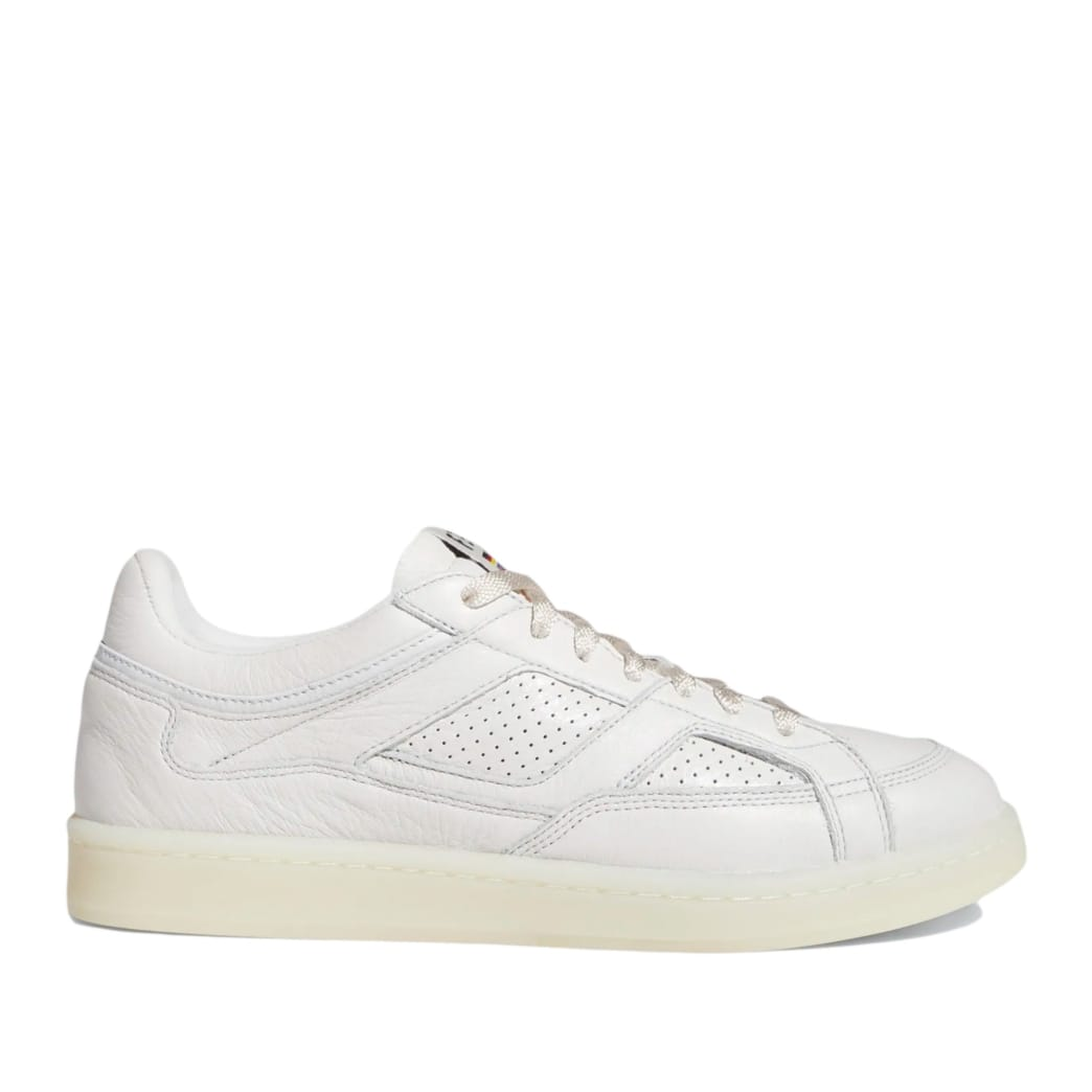 adidas Skateboarding FA Experiment 2 Shoes - Crystal White / Chalk White / Gold Metallic | Shoes by adidas Skateboarding 1