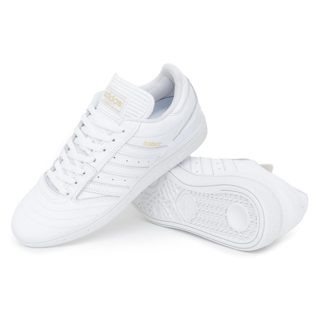 Adidas Busenitz Shoes - FTW White/Gold/FTW White | Shoes by adidas Skateboarding 1