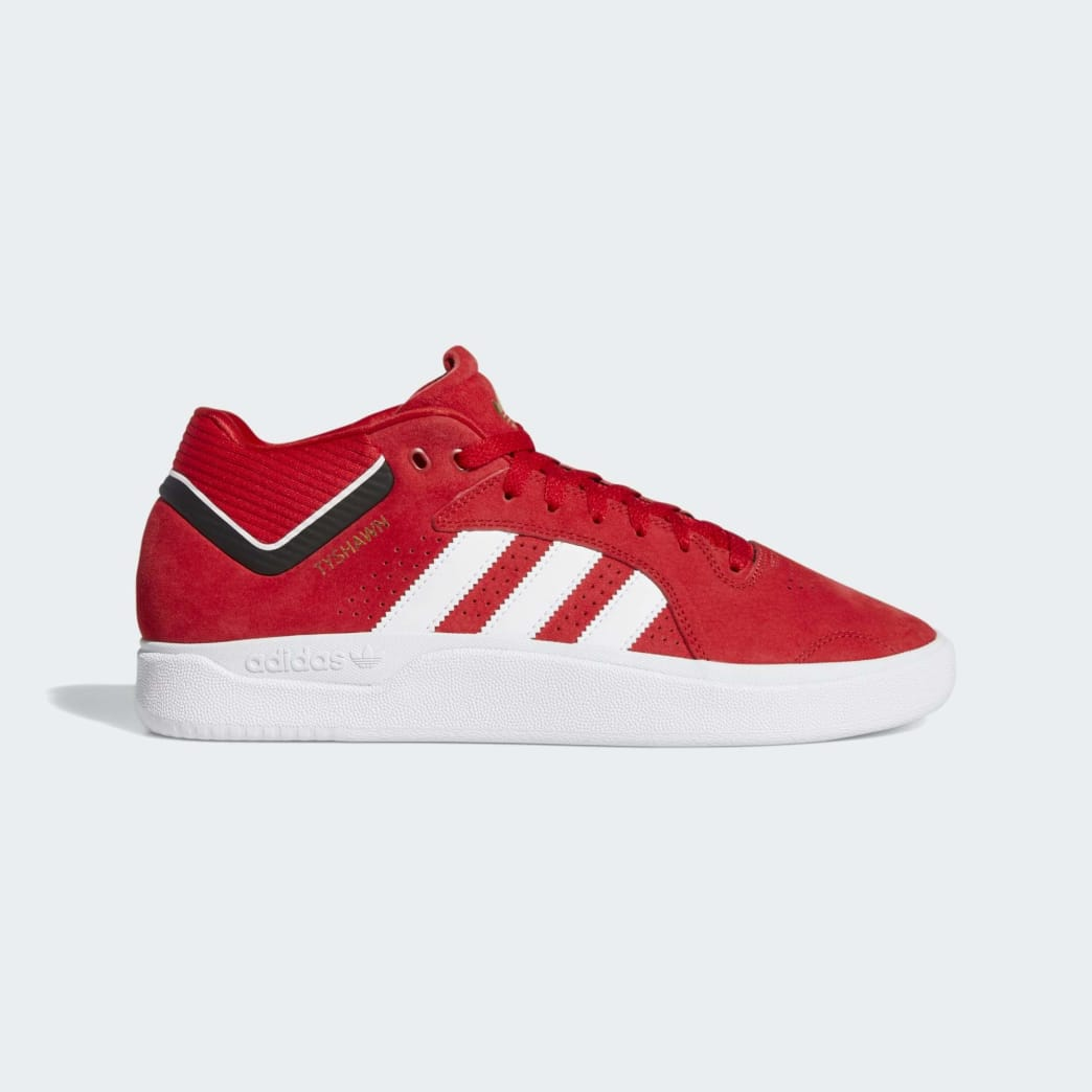 adidas Tyshawn Skateboard Shoes - Scarlet/Cloud White/Core Black | Shoes by adidas Skateboarding 1