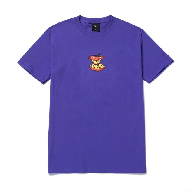 HUF Bad Apple T-Shirt - Purple | T-Shirt by HUF 1