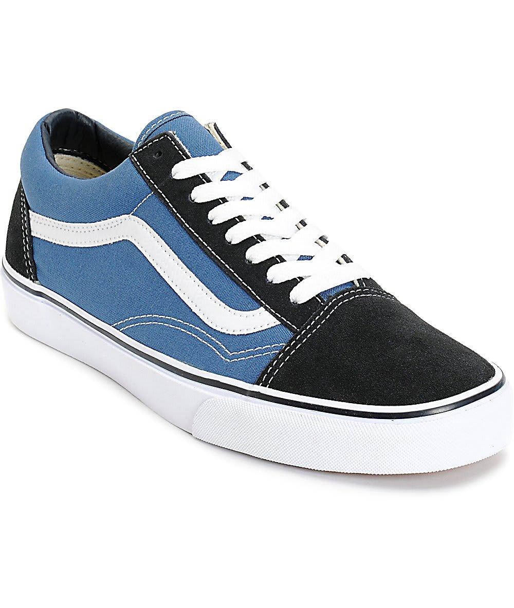 Vans - Old Skool Shoe Navy   Shoes by Vans 1