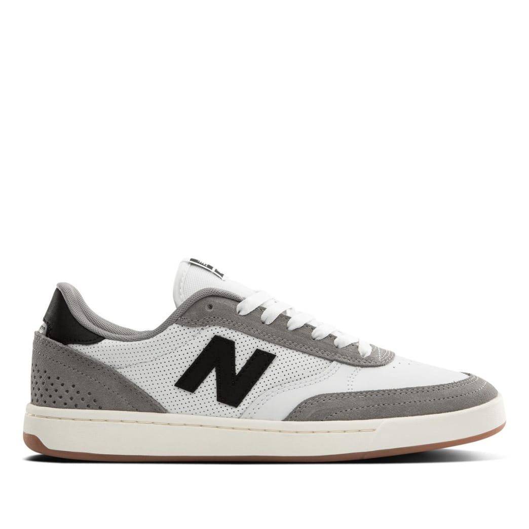 New Balance Numeric 440 Skate Shoe - Munsell White / Grey   Shoes by New Balance 1
