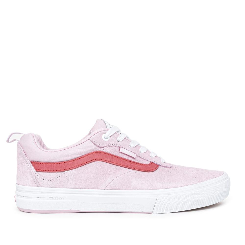 Vans Kyle Walker Pro Skate Shoes - Lilac Snow / Mineral Red | Shoes by Vans 1