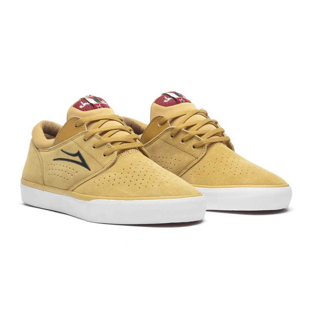 Lakai - Lakai x Chocolate Fremont Vulcanized Suede | Gold | Shoes by Lakai 4