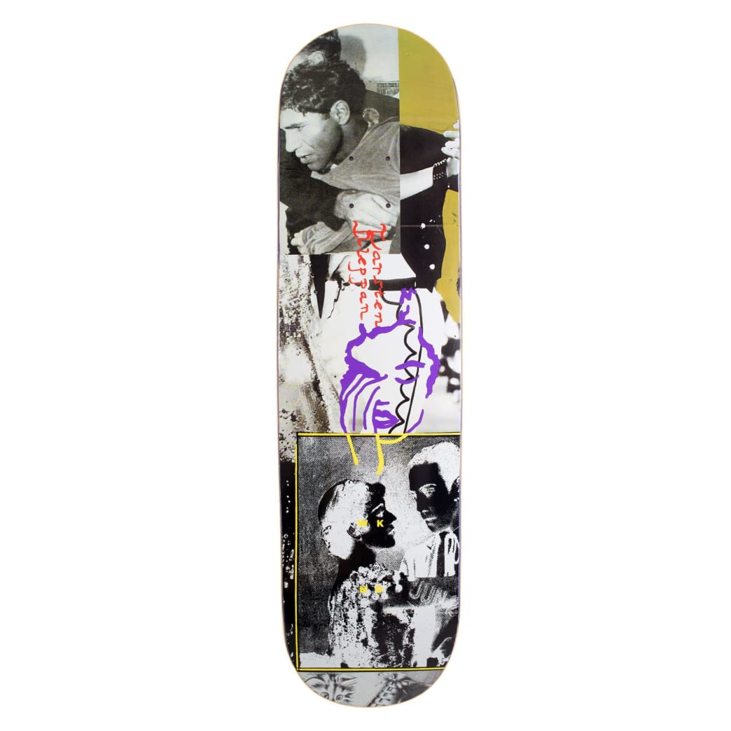 "WKND Karsten Kleppan Death Dance Skateboard Deck - 8.5"" | Deck by WKND 1"