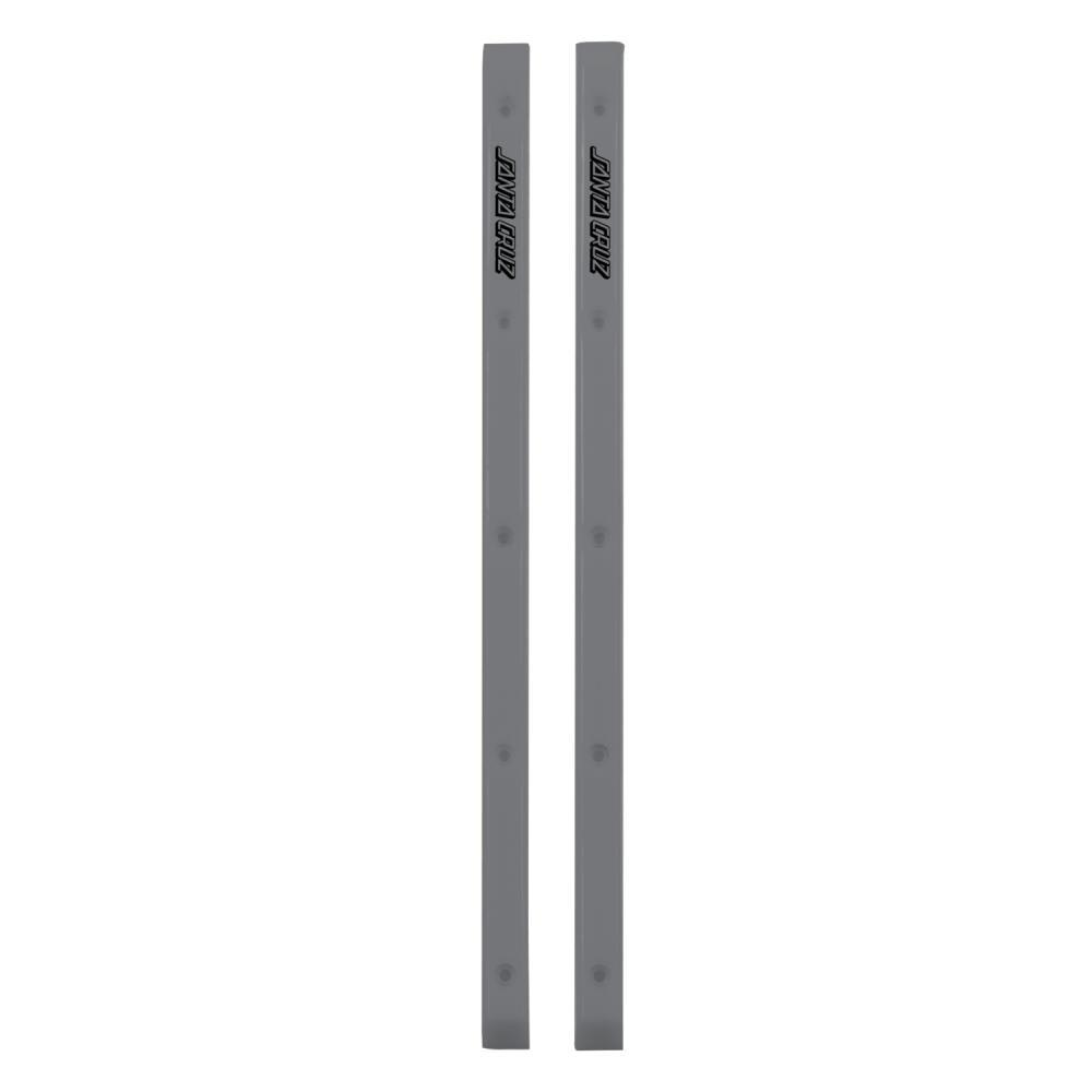 Santa Cruz Cell Block Slimeline Skateboard Rails - Silver | Rails by Santa Cruz Skateboards 1