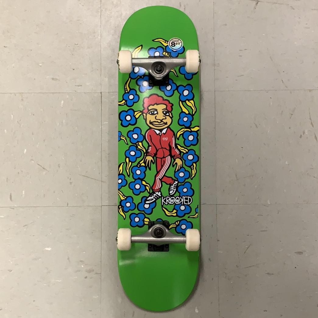 Krooked Skateboards Green Team Sweatpants Complete 8.25 Larger | Complete Skateboard by Krooked Skateboards 1