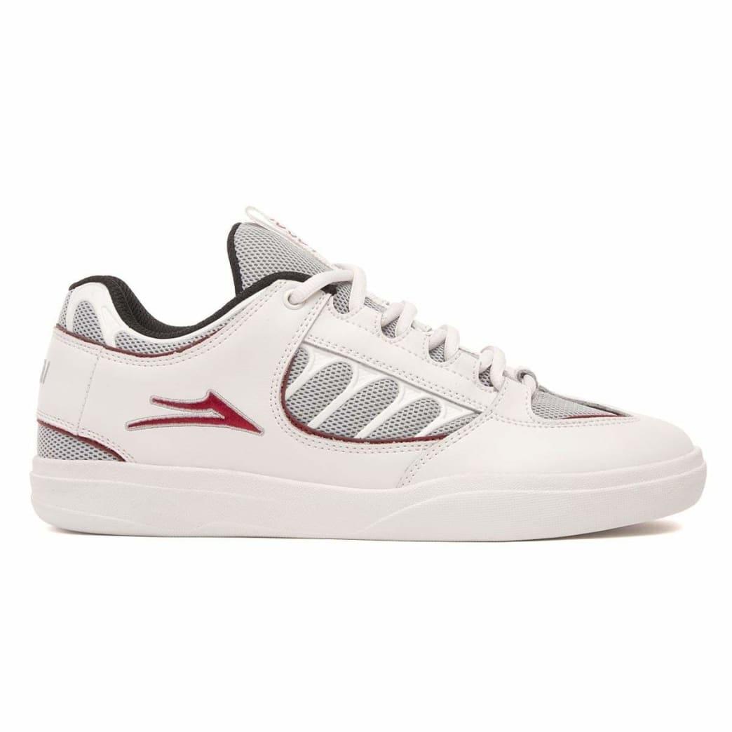 Lakai Carroll Leather Skate Shoes - White   Shoes by Lakai 1