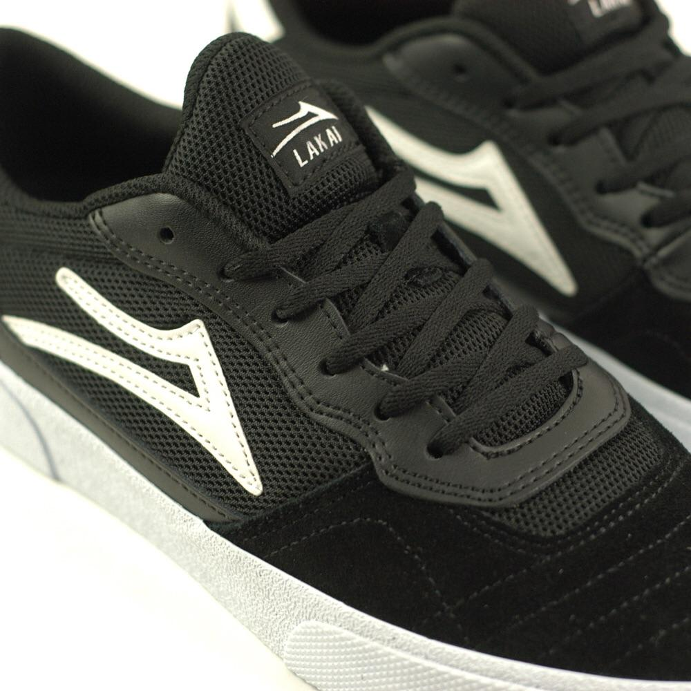 Lakai Cambridge Black White Suede | Shoes by Lakai 2