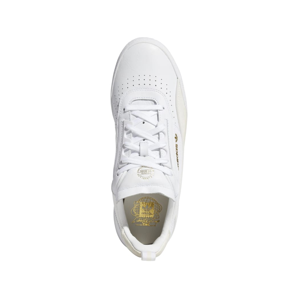 adidas Liberty Cup Skateboarding Shoe - Cloud White/Gold Metallic/Gum | Shoes by adidas Skateboarding 2