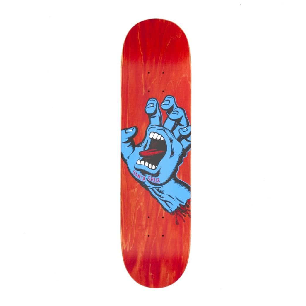 "Santa Cruz Screaming Hand Deck - 8.0""   Deck by Santa Cruz Skateboards 1"