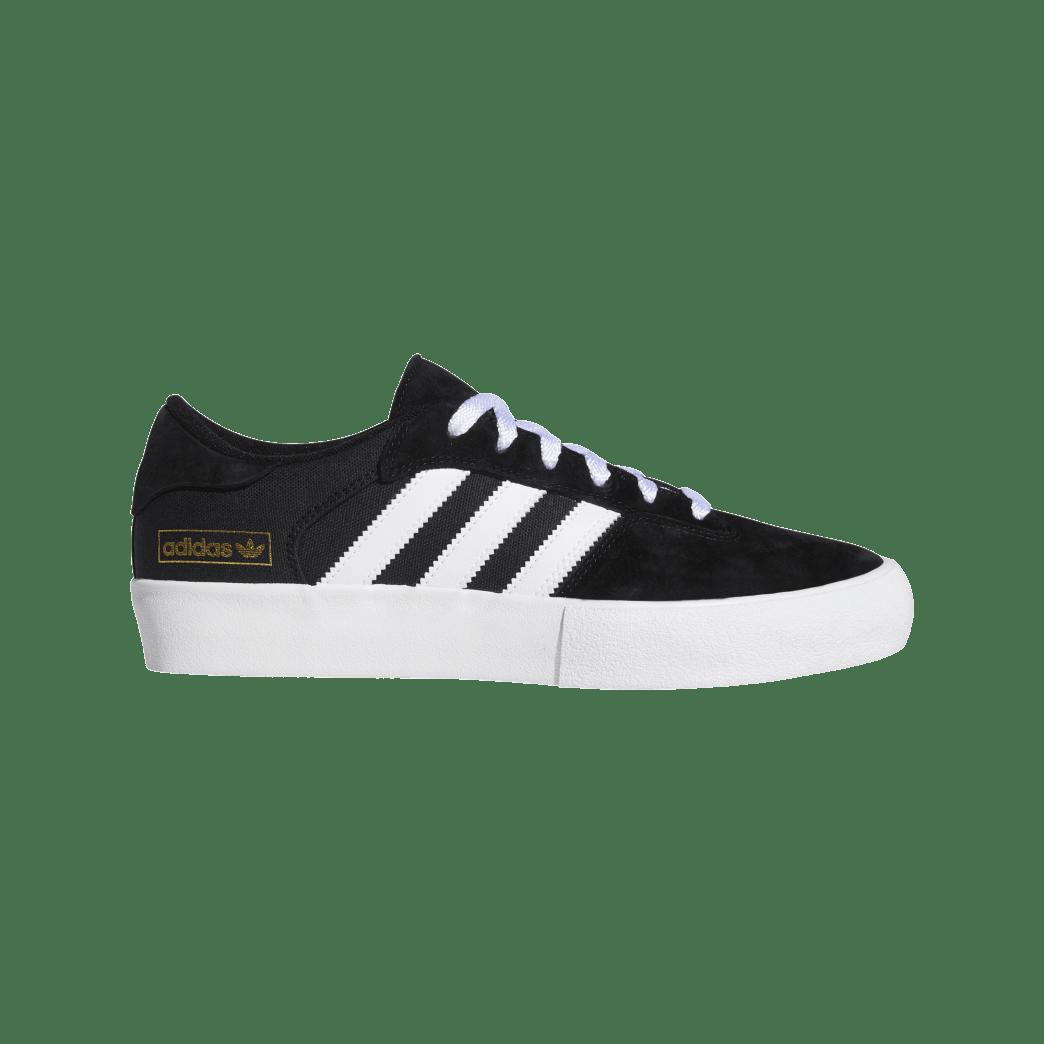 Adidas Matchbreak Super Skateboarding Shoes - Core Black/FTWR White/Gold Met | Shoes by adidas Skateboarding 1