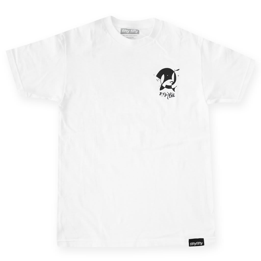Fifty Fifty x Vague T-Shirt White | T-Shirt by Fifty Fifty Store 2