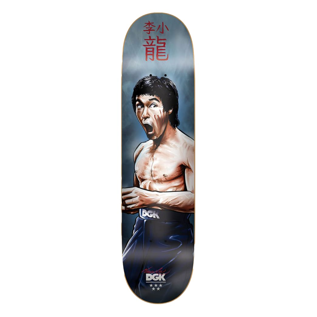 DGK x Bruce Lee Focused Deck 8.06 | Deck by DGK 1