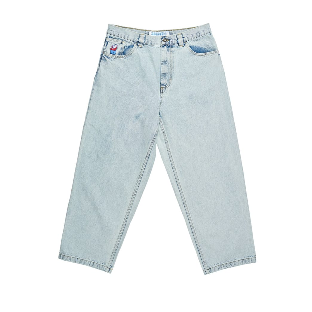 Polar Big Boy Jeans Light Blue | Jeans by Polar Skate Co 1