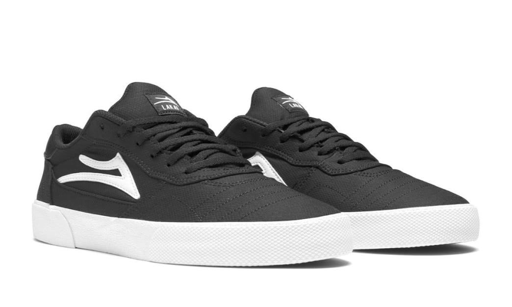 Lakai Cabridge Skate Shoes - Black Textile | Shoes by Lakai 4