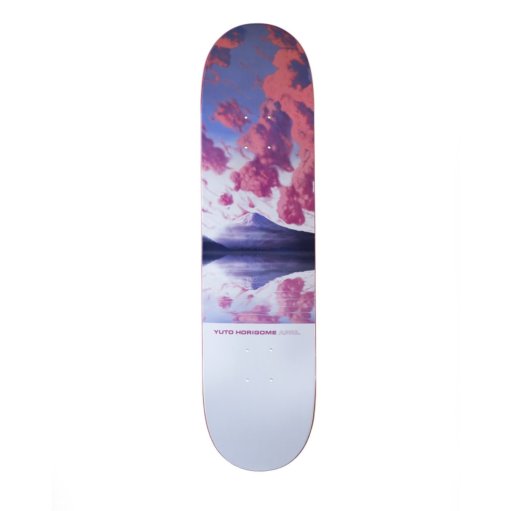 April Yuto Horigome Fuji Skateboard Deck - 8.25"