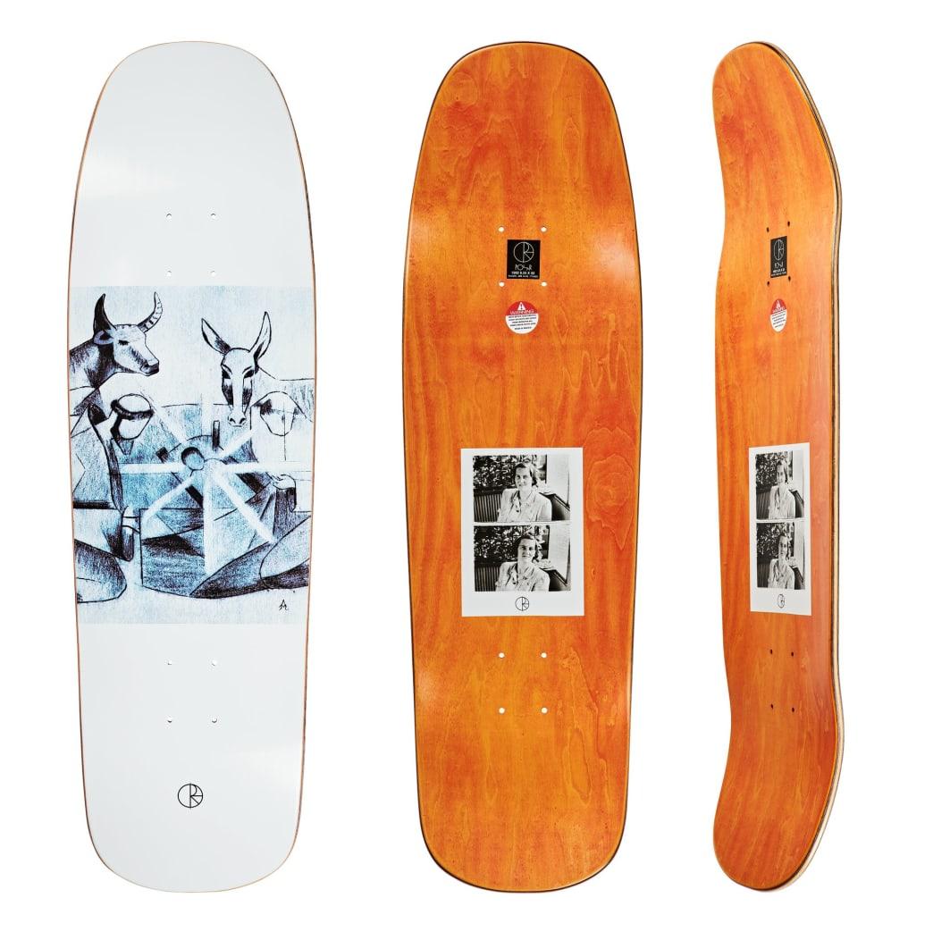 "Polar Skate Co Marta Alv Bethlehem Skateboard Deck - 9.25"" 1992 Special Shape | Deck by Polar Skate Co 1"